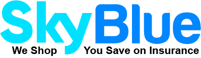 SkyBlue Auto home health insurance - logo